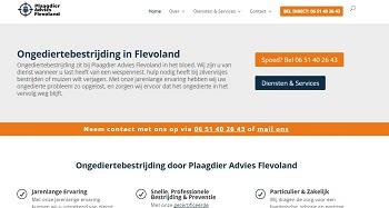 Plaagdieradvies Flevoland